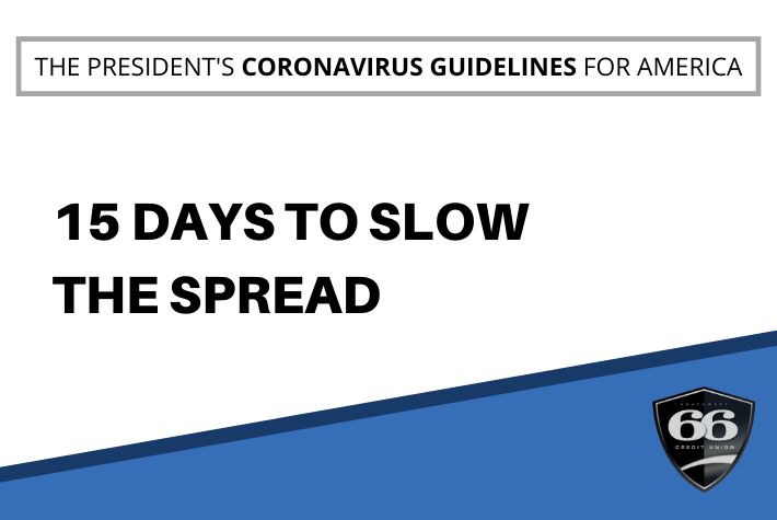 THE PRESIDENT'S CORONAVIRUS GUIDELINES FOR AMERICA